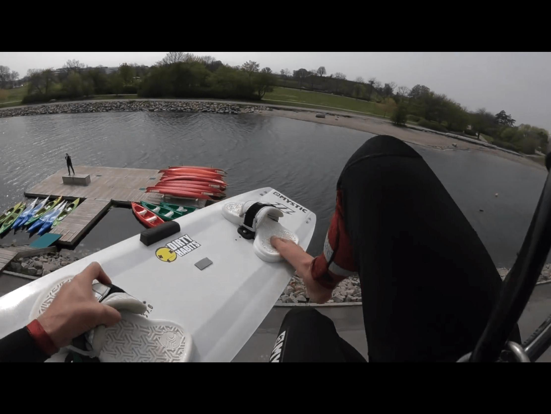 Nick Jakobsen – Urban kiteboarding