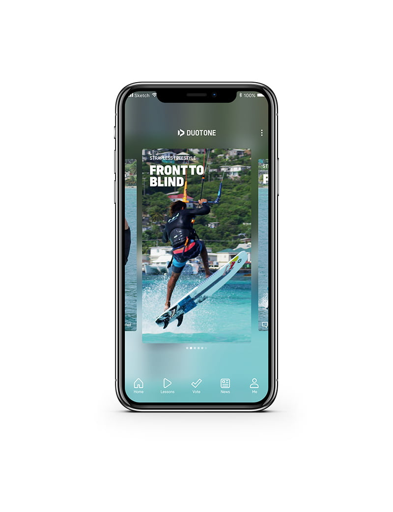 Duotone kiteboard app