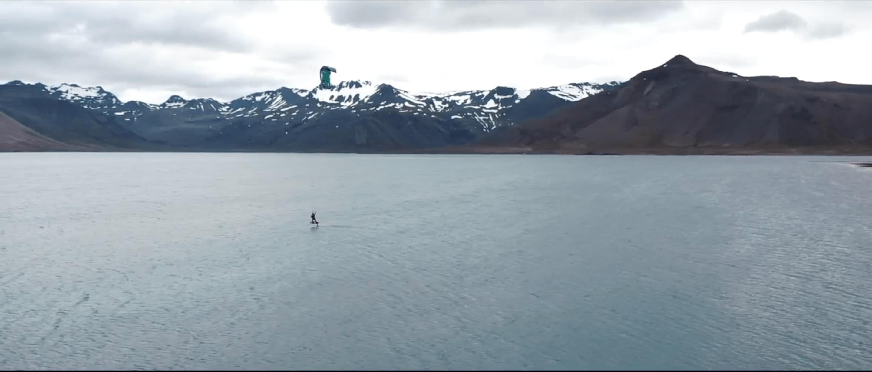 Kitesurf Izlandon