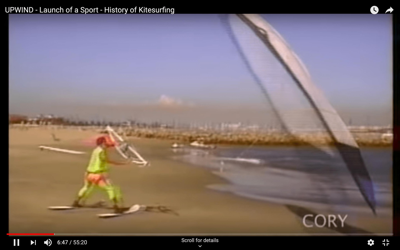 Upwind – kitesurf történelem
