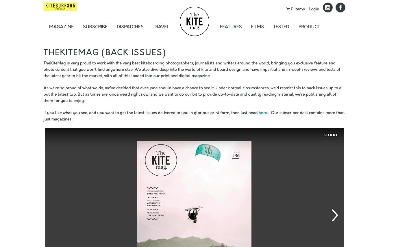 The Kitemag régebbi számok ingyen online