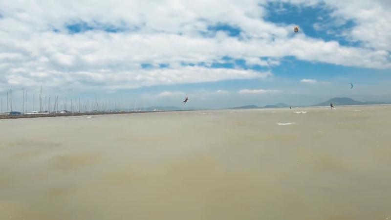 Helyem a Balatonon, kitesurf